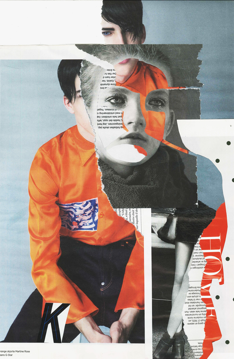 Collage Dropout : Magazine Collages by Rebecca Hawkes   Rebecca Hawkes Diary