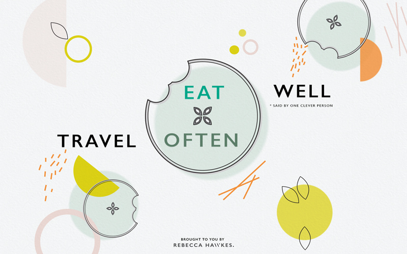 Rebecca Hawkes Diary | Eat Well, Travel Often. Free download