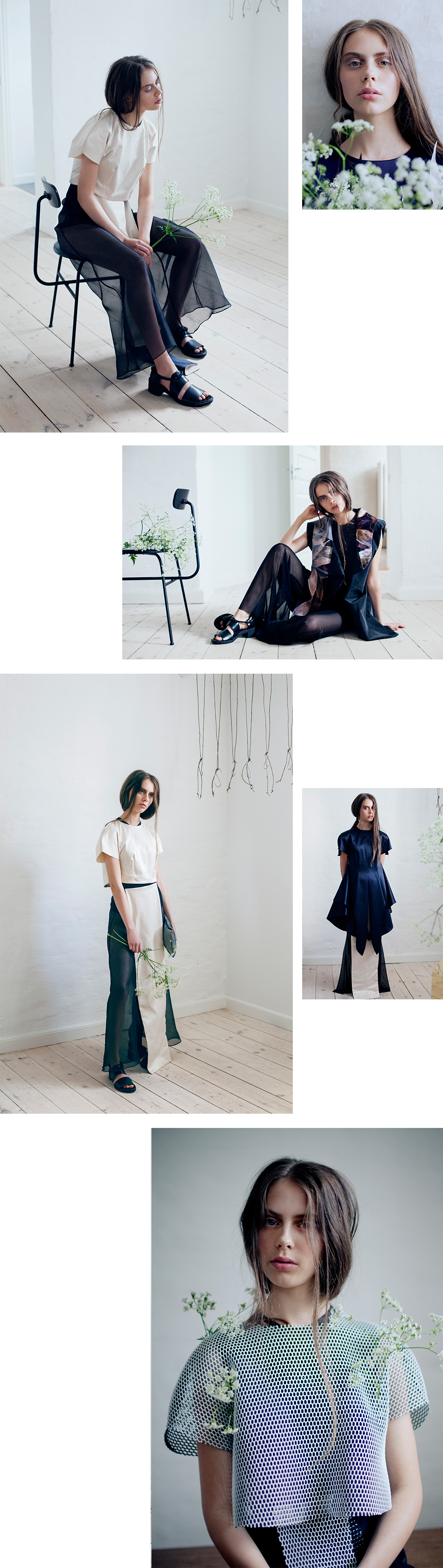 Mariapia Mineo SS16 Lookbook ~ Photographed by Rebecca Hawkes