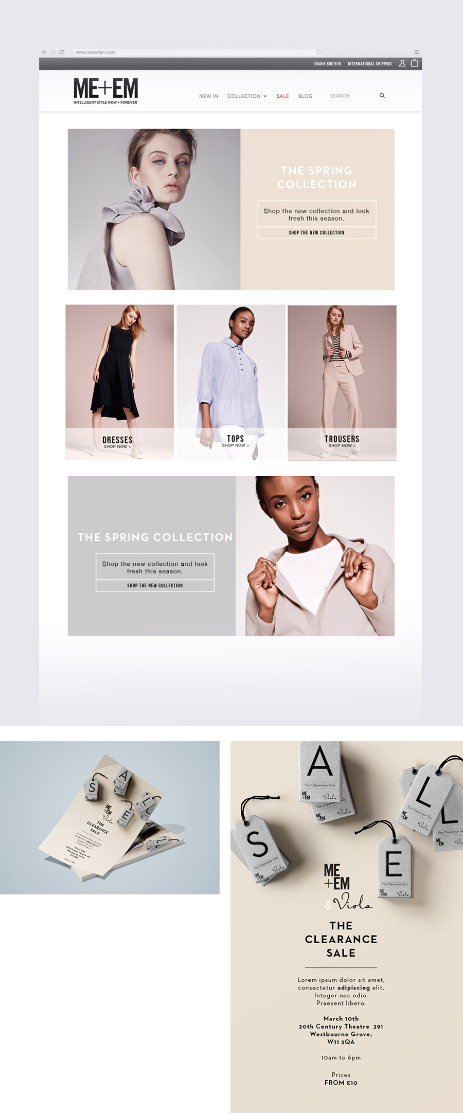 Rebecca Hawkes Portfolio ~ Design for London brand Me+Em