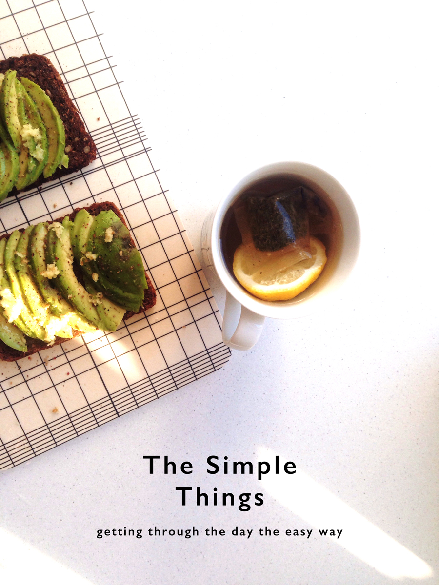 The simple things | Sustainably living the graphic designer life by Rebecca Hawkes