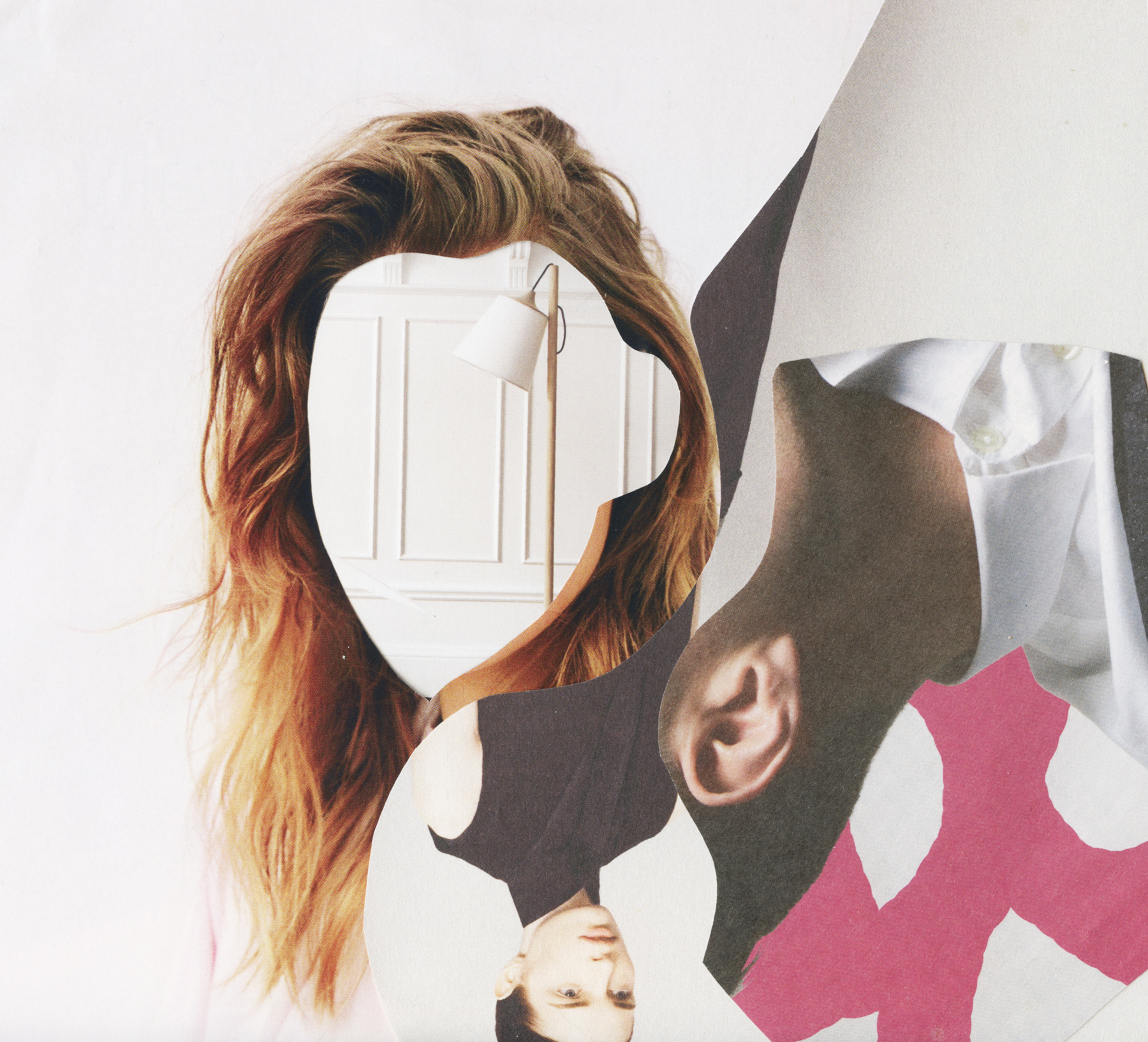 Fashion Collages by Rebecca Hawkes